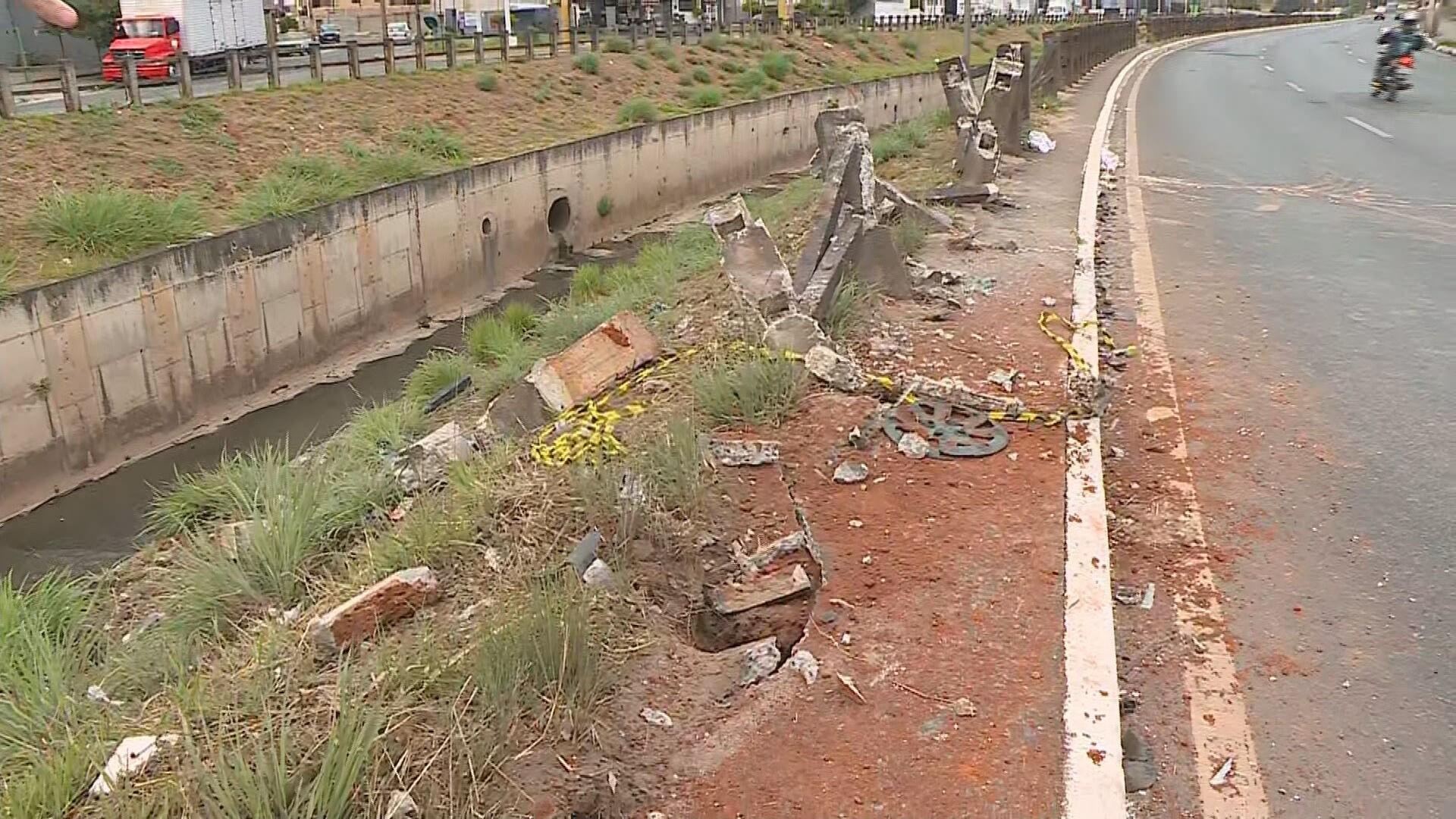 Acidente deixa uma pessoa morta e outra ferida em Contagem, na Região Metropolitana de BH