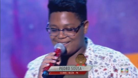 Pedro Sousa, a estrelinha paraense do The Voice Kids, fala sobre a sua relação com a música