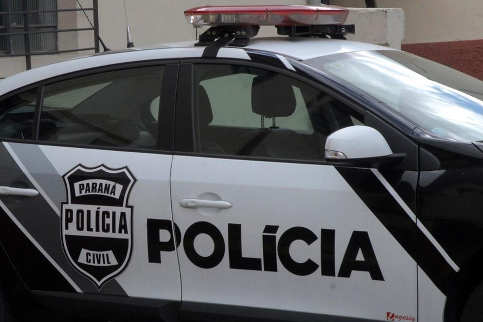 Viatura Polícia Civil do Paraná, PCPR — Foto: Divulgação/PCPR