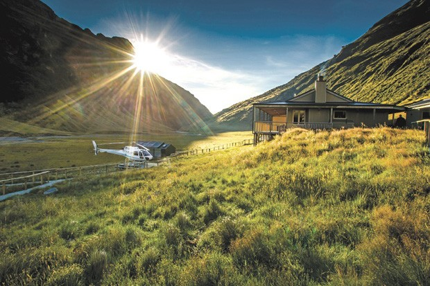 10 hotéis onde só é possível chegar de helicóptero ou hidroavião (Foto: divulgação)