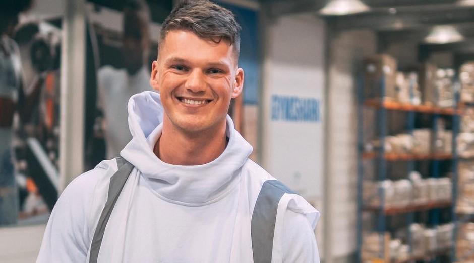Ben Francis é o fundador da Gymshark (Foto: Reprodução/Instagram)