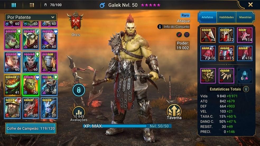 RAID: Shadow Legends tem gráficos realistas e lembra títulos como Diablo e Warcraft, por exemplo — Foto: Divulgação/Plarium Global