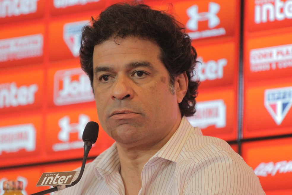 Raí agora é diretor executivo de futebol do São Paulo (Foto: Guilherme Rodrigues/Futura Press)