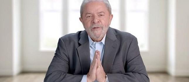 Lula na TV (Foto: Reprodução)