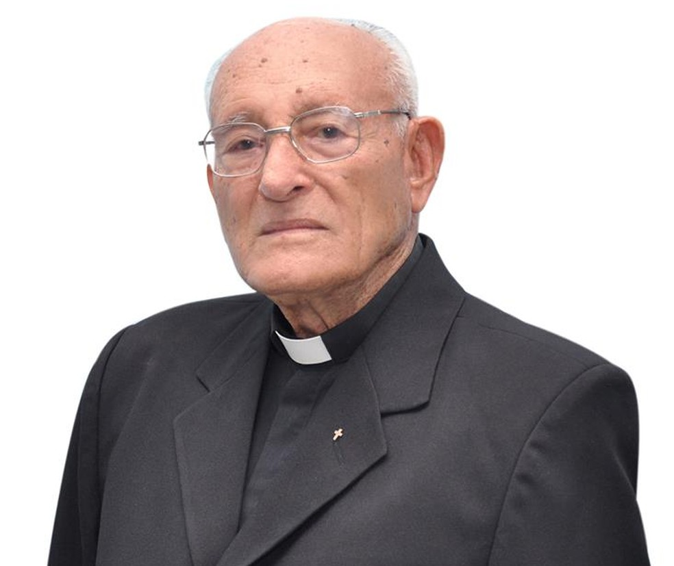 Monsenhor Pinto era o padre mais antigo da Arquidiocese de Natal (Foto: Assessoria de Comunicação da Arquidiocese de Natal)