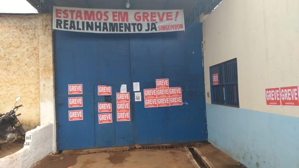 Mobilização grevista começou no dia 18 de janeiro.  — Foto: Cássia Firmino/G1