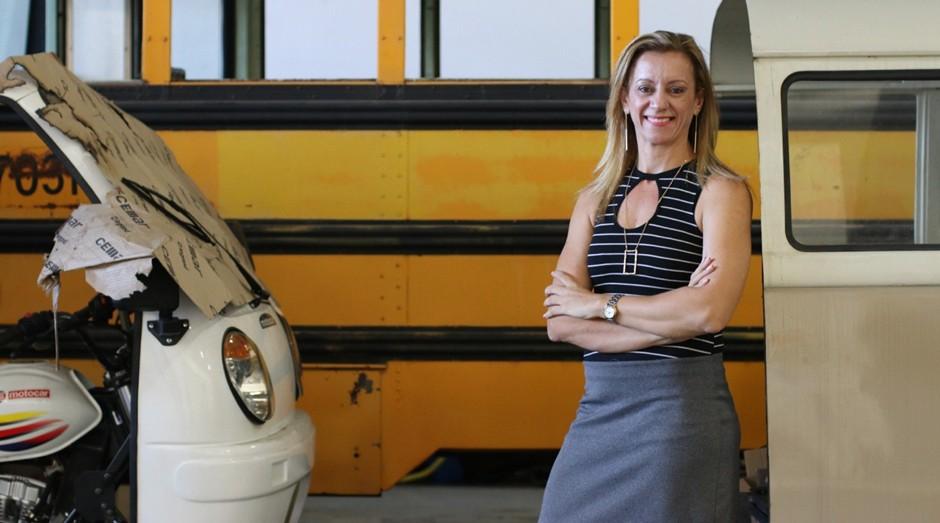 Gislene Gonçalves, da FAG Brasil: formada em educação física, ela se encontrou no empreendedorismo (Foto: Divulgação)
