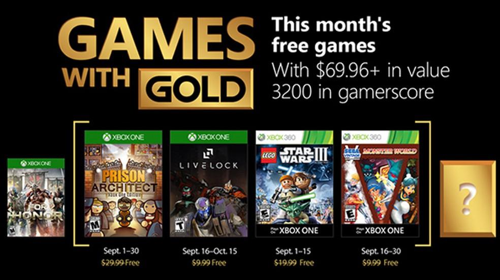 Prison Architect e LEGO Star Wars são games grátis do Xbox em
