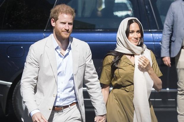 Meghan Markle e o marido, príncipe Harry (Foto: Getty Images)