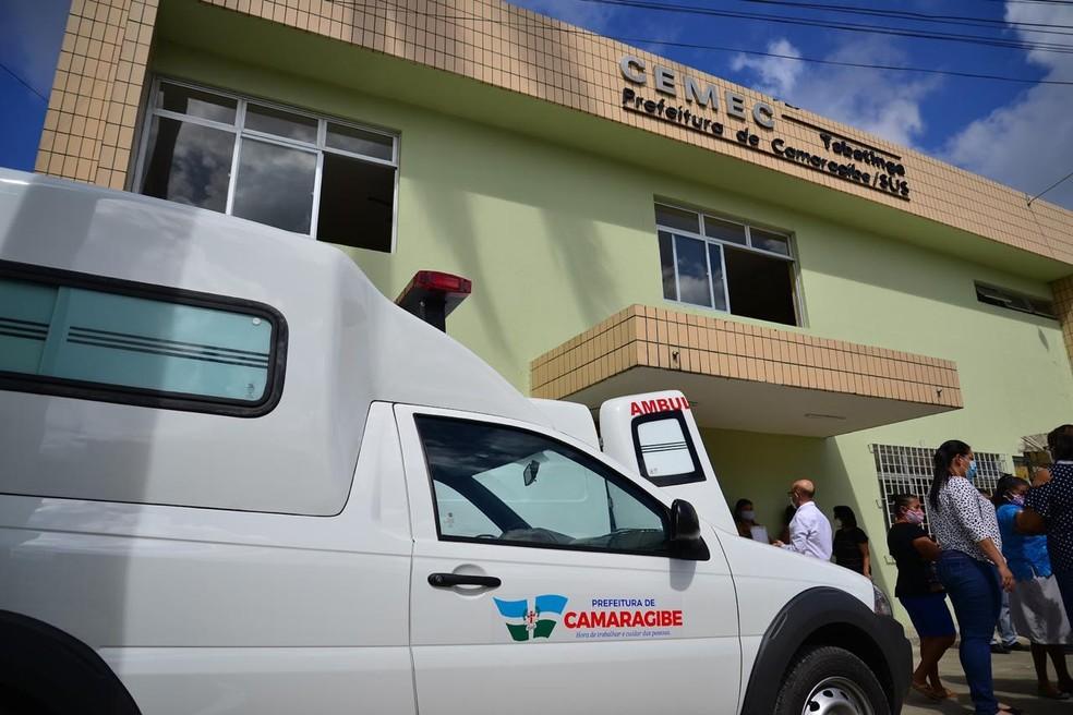 Centro de Especialidades Médicas de Camaragibe foi inaugurado na sexta-feira (10) — Foto: Victor Patrício/Prefeitura de Camaragibe/Divulgação