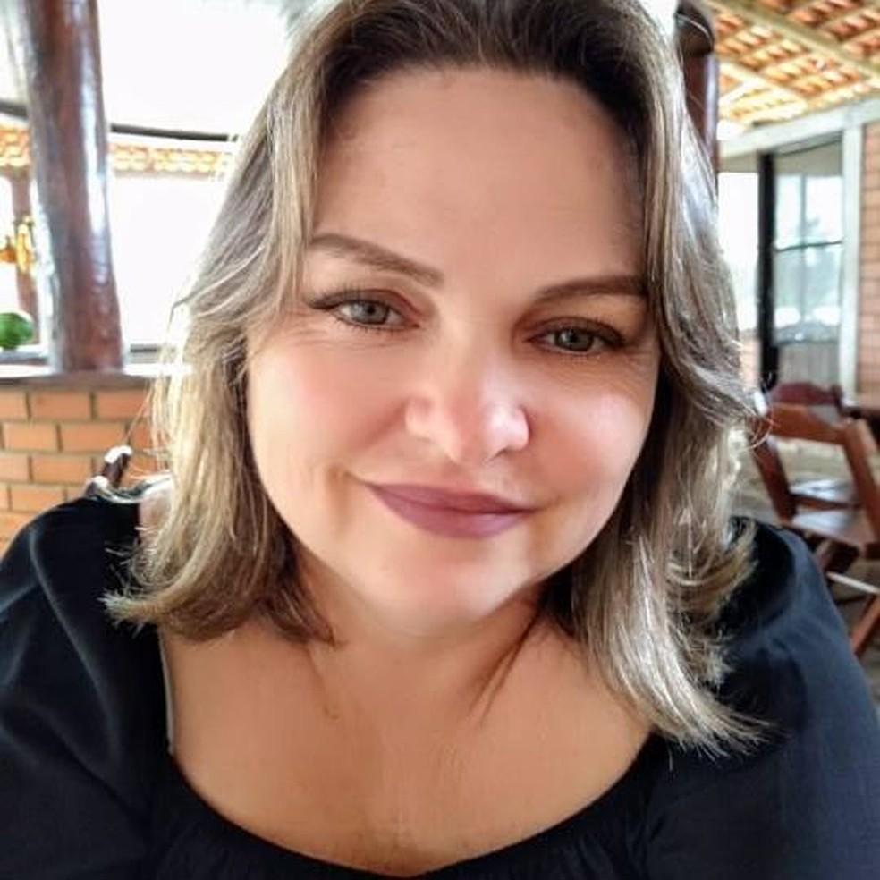 Cátia Regina Silva foi encontrada morta — Foto: Reprodução/Facebook
