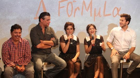 'A Fórmula': elenco, autores e direção apresentam nova série nos Estúdios Globo