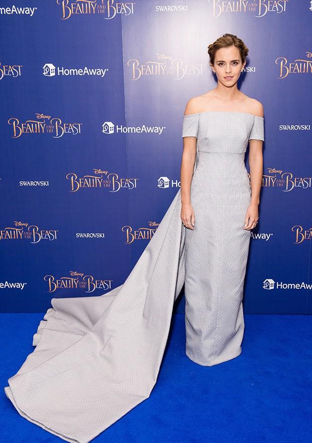 Emma Watson de Emilia Wickstead (Foto: Getty Images)