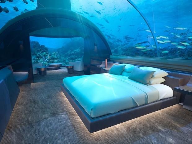 Hotel subaquatico (Foto: Divulgação)