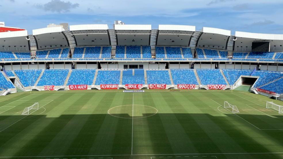 Arena das Dunas — Foto: Augusto César Gomes/ge
