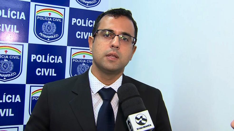 Delegado Bruno Bezerra — Foto: TV Asa Branca/Divulgação