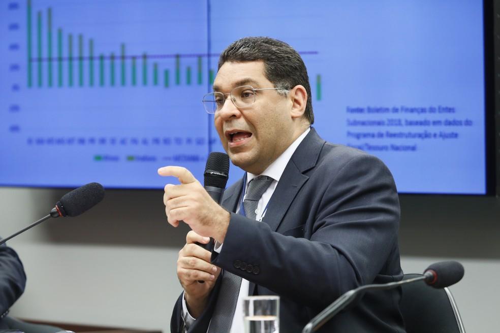 O secretário do Tesouro Nacional, Mansueto Almeida, em imagem de arquivo — Foto: Luis Macedo/Câmara dos Deputados