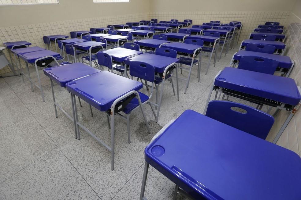 Escolas no Pará estão autorizadas a reabrir a partir desta terça, 1º. — Foto: Reprodução / Agência Pará