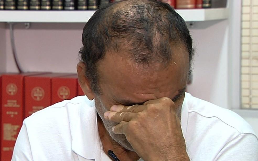 Osmar terá a primeira sessão de quimioterapia pelo SUS enquanto aguarda que plano cumpra decisão judicial — Foto: Reprodução/TV Anhanguera