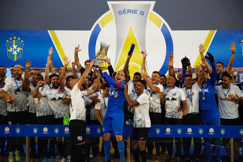 Bragantino foi campeão brasileiro da Série B em 2019 — Foto: Ari Ferreira/CA Bragantino