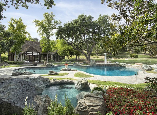 Michael Jackson rancho Neverland (Foto: Reprodução/Home Adverts)