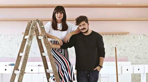 Danielle Noce e Paulo Cuenca, alguns dos maiores influenciadores do país (Foto: Layla Motta)