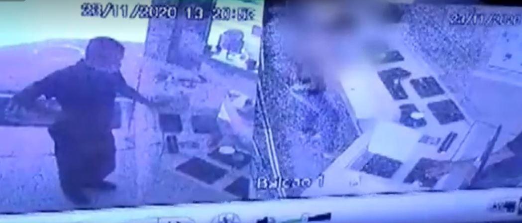 Câmeras de segurança flagram assalto a relojoaria, em São José dos Pinhais