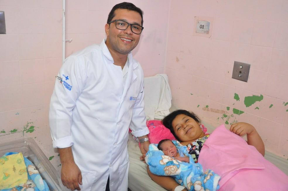 dsc 0152 - Grávida dá à luz trigêmeos em parto complexo em Santarém: 'questão de minutos', diz médico