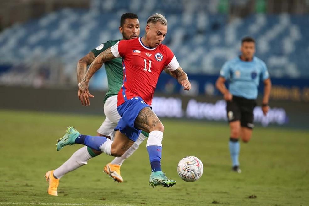 Eduardo Vargas, atacante do Atlético-MG — Foto: Divulgação/Seleção chilena