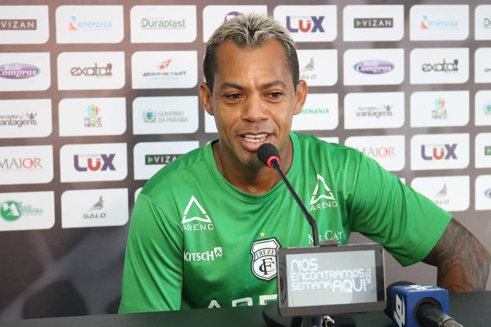 Marcelinho Paraíba é uma das principais referência do Treze ao longo desta temporada (Foto: Ramon Smith / Treze)