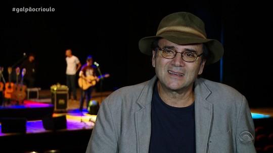 Reveja o bate-papo especial do 'Galpão' com o músico Almir Sater