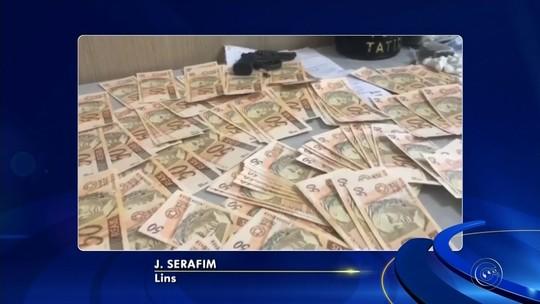 Polícia apreende mais de R$ 10 mil em notas falsas em Lins
