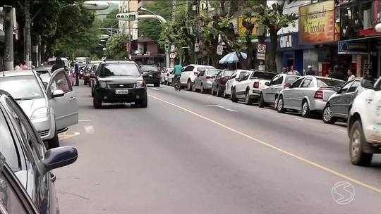 Sem funcionar, semáforos causam transtorno no trânsito de Barra do Piraí, RJ