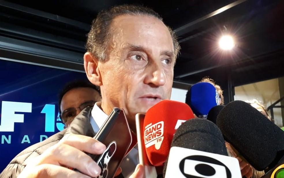 Paulo Skaf, candidato derrotado do MDB ao governo do estado de São Paulo — Foto: Vivian Reis/G1