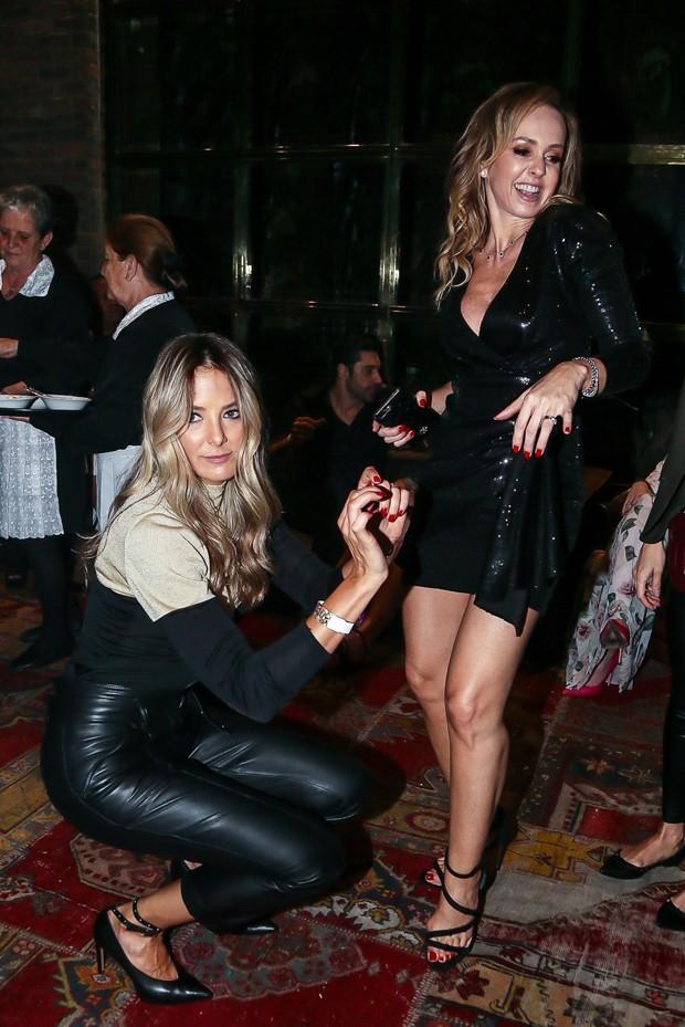 Ticiane Pinheiro e Deborah Quintela (Foto: Manuela Scarpa/Brazil News)