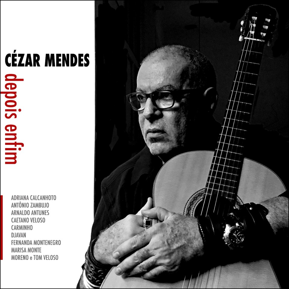 """A capa de """"Depois enfim"""", de Cézar Mendes"""