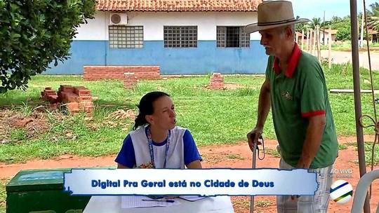 Seja Digital faz ação no Bairro Cidade de Deus em Rondonópolis