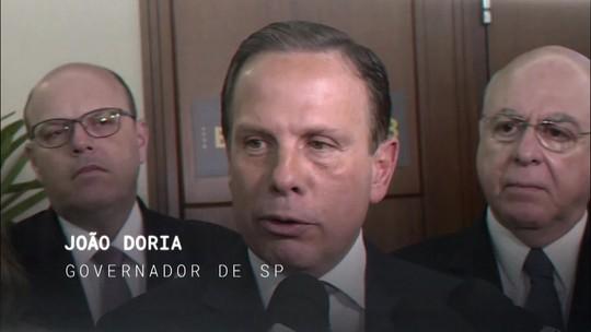 Central GloboNews entrevista o governador João Doria