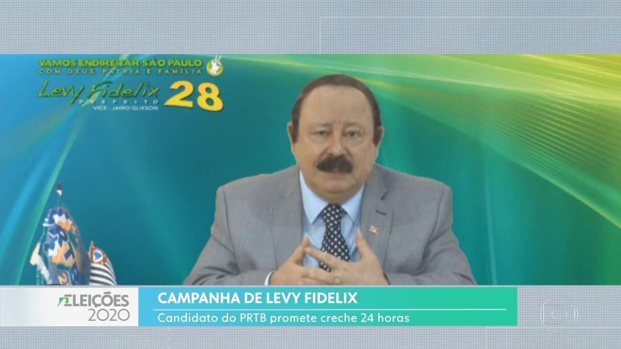 Levy Fidelix fez uma transmissão pela internet