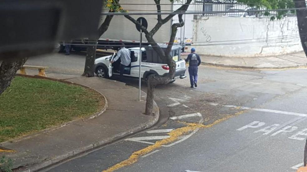 Flagra foi feito por morador em Sorocaba (Foto: Arquivo pessoal)