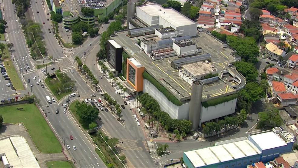 Shopping Plaza Sul — Foto: Reprodução/TV Globo