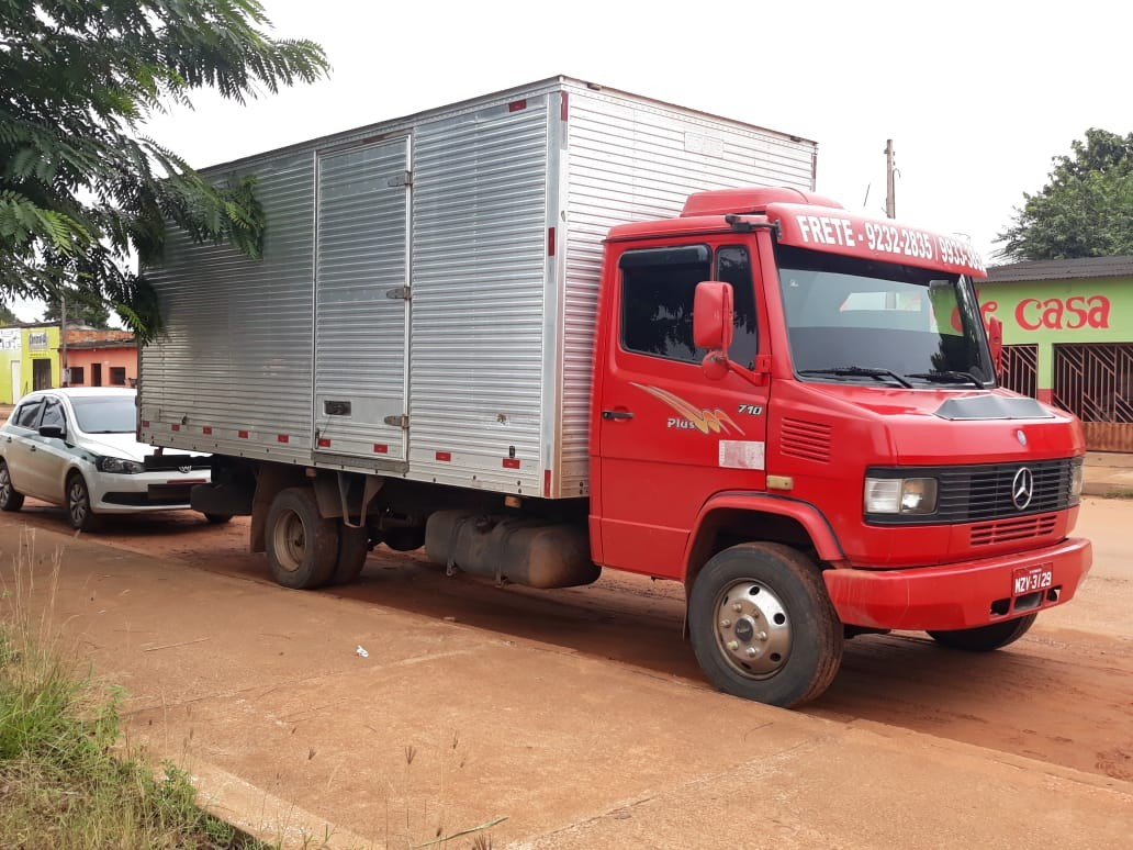Caminhão roubado no Acre é recuperado após ser rastreado pela PRF em Guajará-Mirim, RO