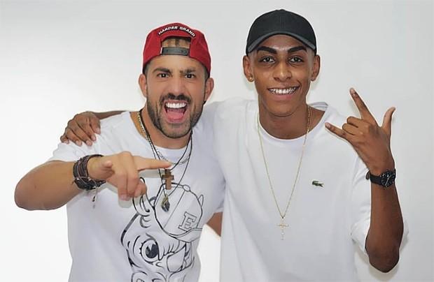 Kaysar e MC Leleto (Foto: Reprodução/Instagram)