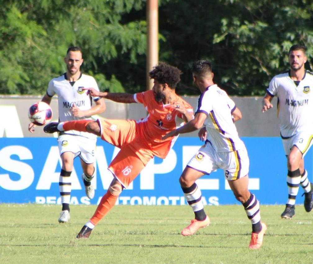 Atibaia passa a ser o sexto colocado na competição, enquanto o Bernô fica na nona posição — Foto: Gustavo Muniz/TV Falcão
