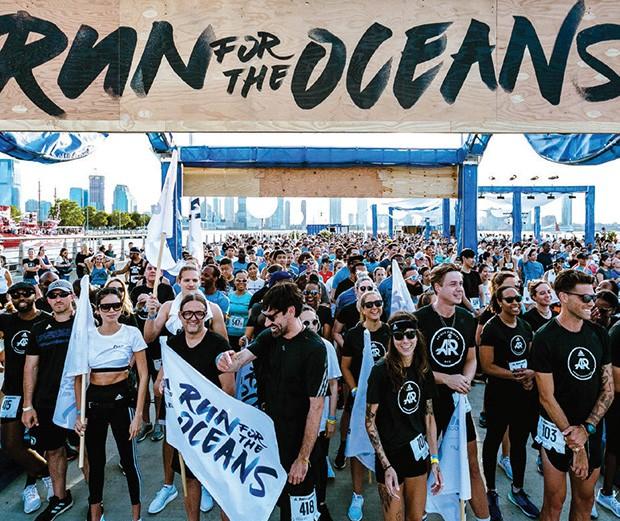 Edição do projeto Run for the Oceans, parceria entre a Adidas e a Parley (Foto: Divulgação/ Parley For The Oceans)