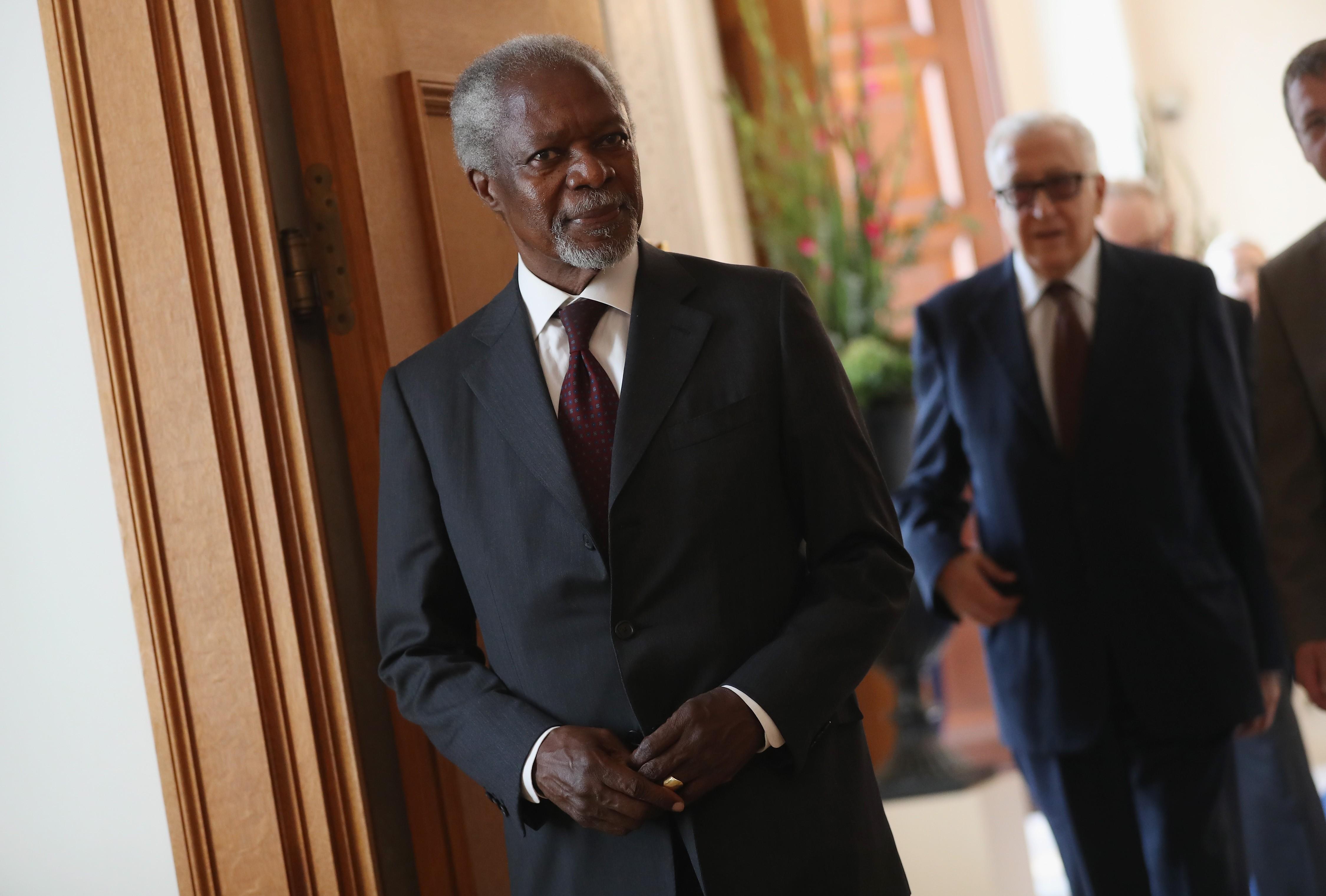 Kofi Annan, ex-secretário geral da ONU (Foto: Getty Images)