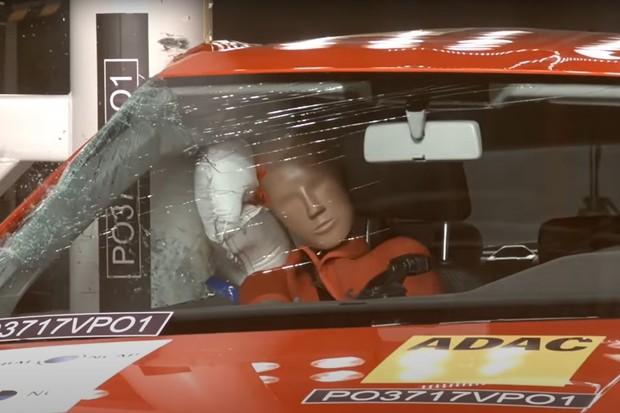 Volkswagen Polo Crash Teste Latin NCAP Lateral Airbag (Foto: Divulgação)