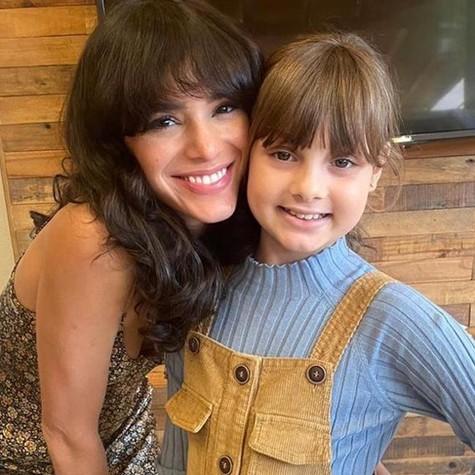 Bruna Marquezine e Bella Martins (Foto: Arquivo pessoal)