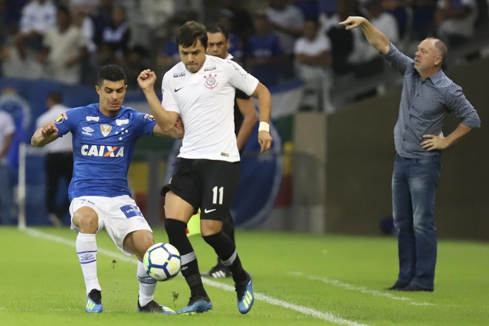 Cruzeiro faz segundo amistoso com o Corinthians nesta quarta-feira (Foto: Ramon Bitencourt / Estadão Conteúdo)
