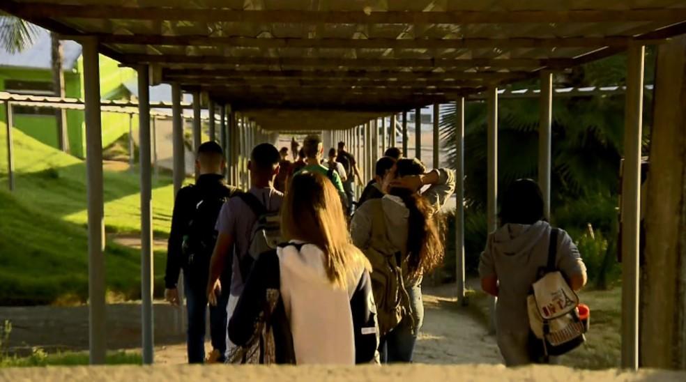 Bloqueio de verbas devem impactar 27 mil estudantes do IF Sul de Minas — Foto: Reprodução/EPTV